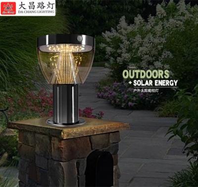 現代草坪燈