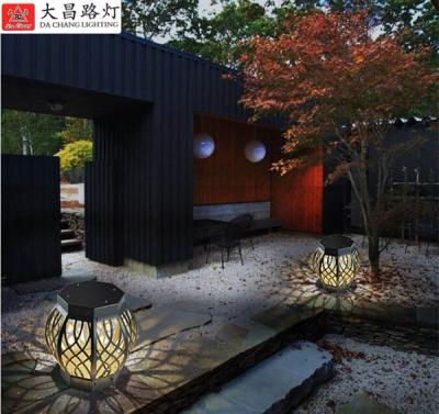 中式草坪燈