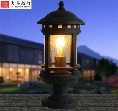 歐式柱頭燈