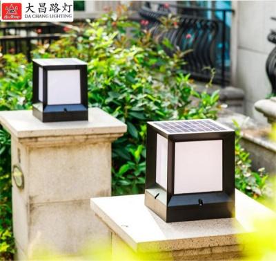 太陽能柱頭燈