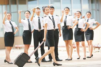 廣西物資學校民航服務專業