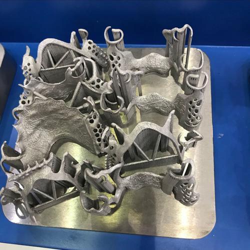 金属打印制品示例1