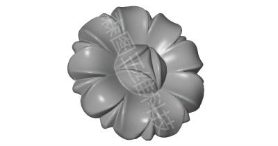 五金小花压铸精密件ATOS三维扫描STL数据