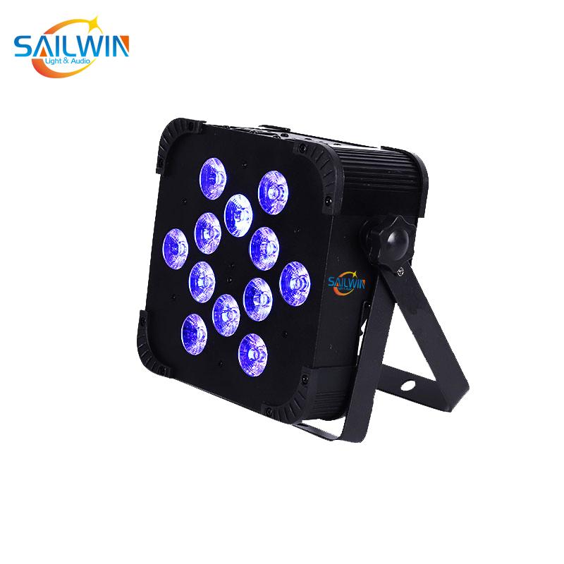 12*18W 6in1 Wireless LED Flat Par Light