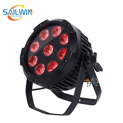 Wireless 9*18W 6in1 IP65 Waterproof Battery Powered LED Par Light