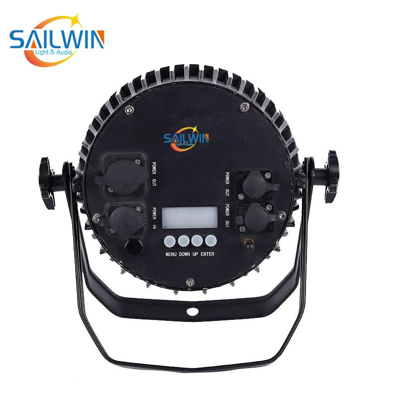 Wireless 9*18W 6in1 IP65 Waterproof Battery Powered LED Par Light