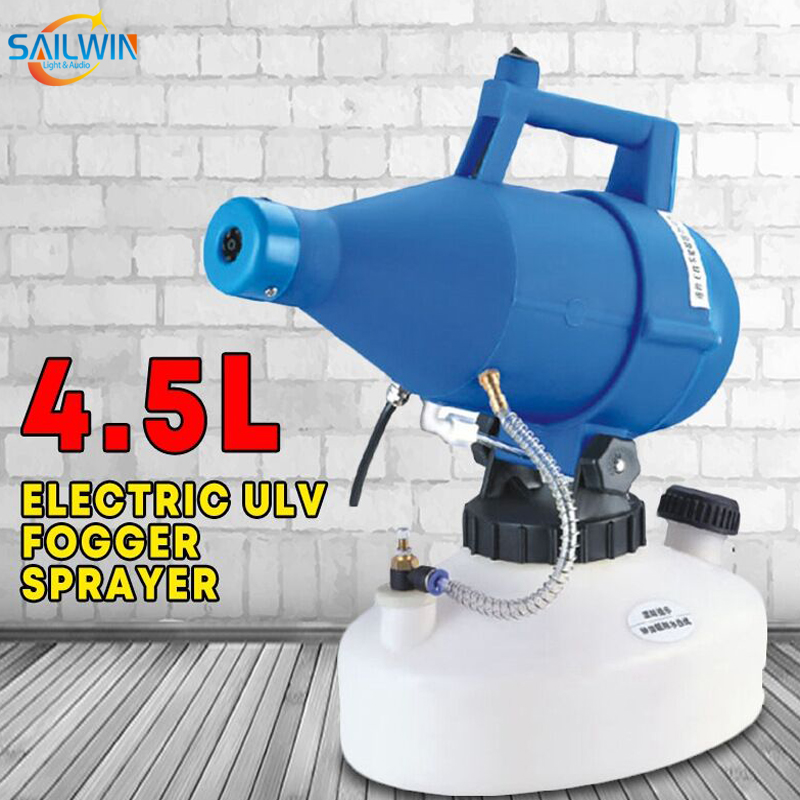1400W 4.5L ULV Disinfection Fogger Smoke Machine
