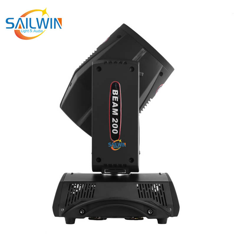 SW-B230 230W 7R Stage Moving Head Beam Light With Flight Case Road Case