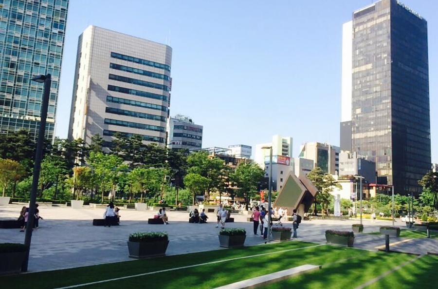 现代甲级办公楼