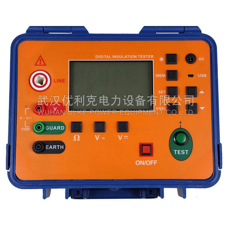 05.ULKE-2673B数字绝缘电阻测试仪(10KV,5mA)