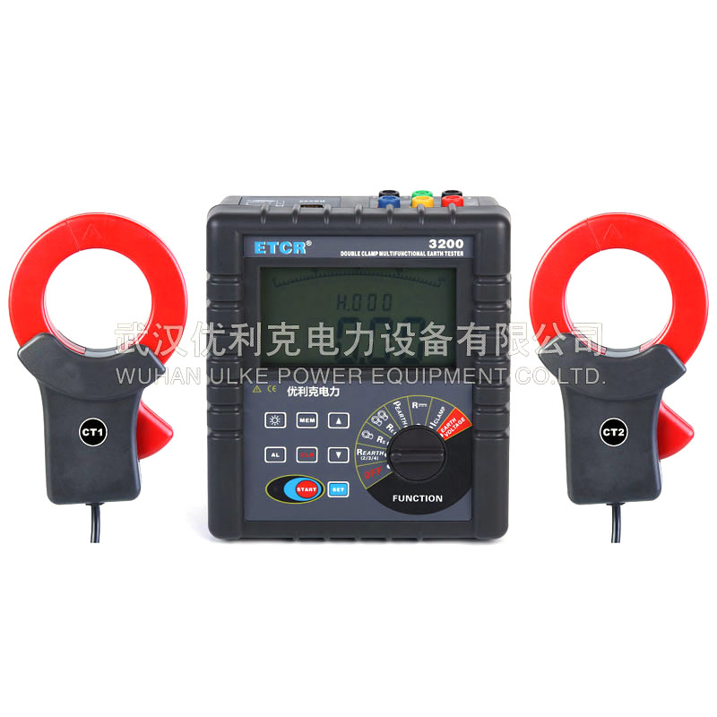 19.ETCR3200双钳接地电阻测试仪(高精度)