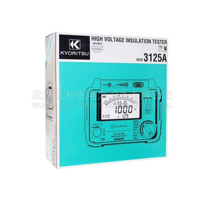 27.日本共立 2500V 高压绝缘电阻测试仪 KEW3025A/3025