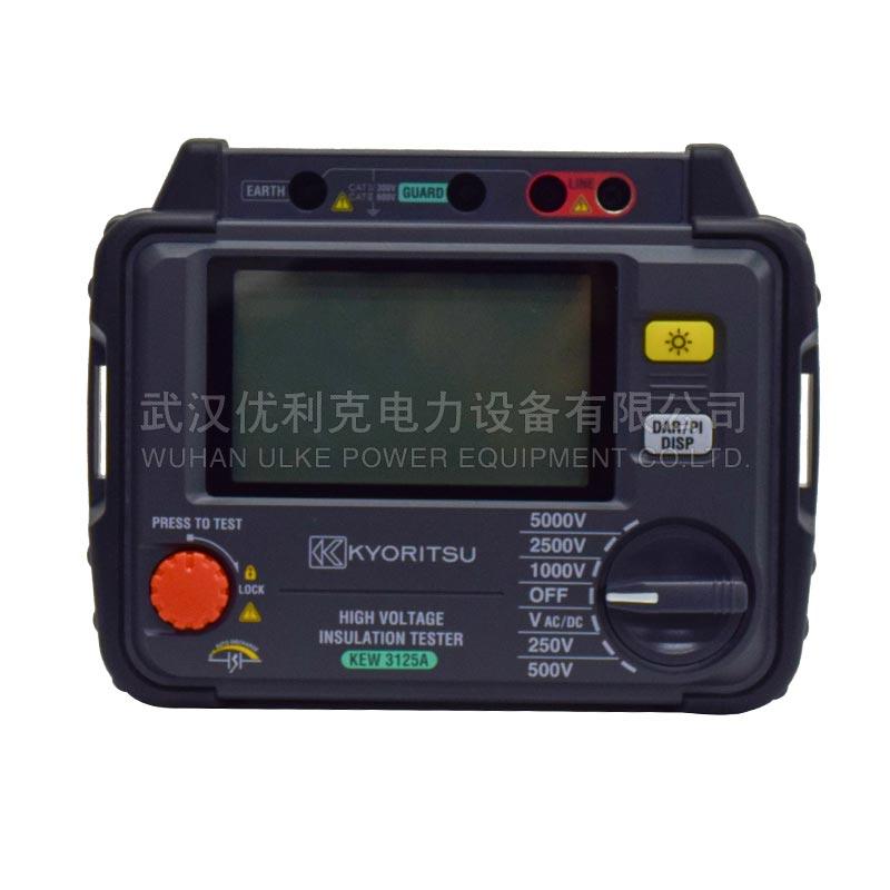 28.日本共立 5000V 高压绝缘电阻测试仪 KEW3125A/3125
