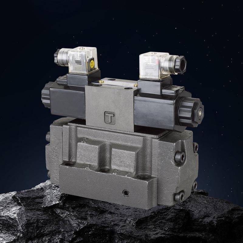 DSHG-04、06、10,DSHG(-N)-04、06、10系列电液换向阀