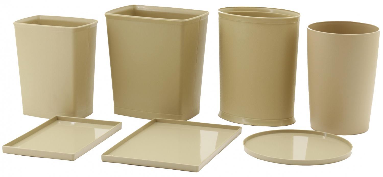 9480锥圆型米黄色阻燃垃圾桶