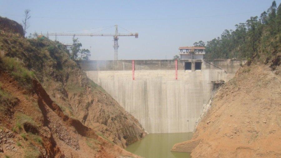 玉溪市红塔区红旗水库除险加固工程防渗面板工程