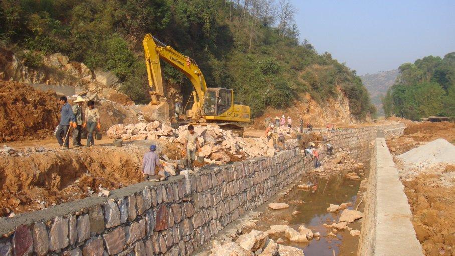 易门县双龙河治理工程