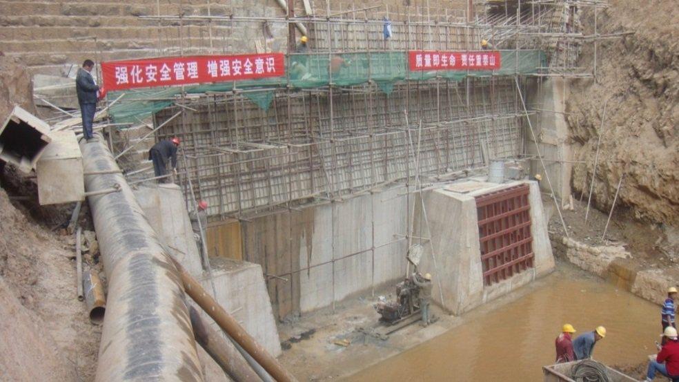 玉溪市红塔区红旗水库除险加固工程防渗面板施工