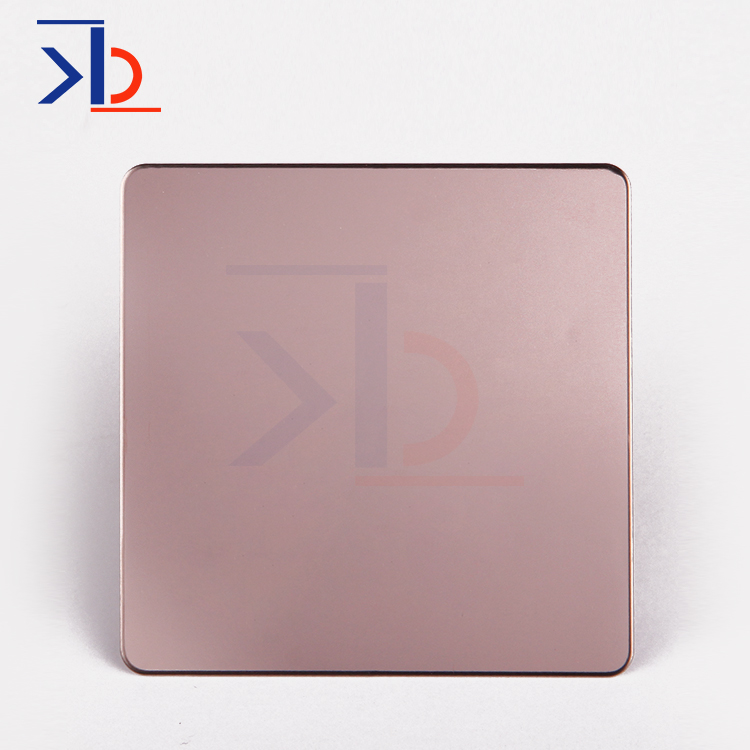 0.5mm thick titanium colored stainless steel sheets 304