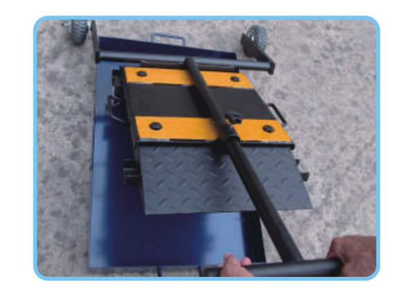 Portable Axle Wheel Weighing System
