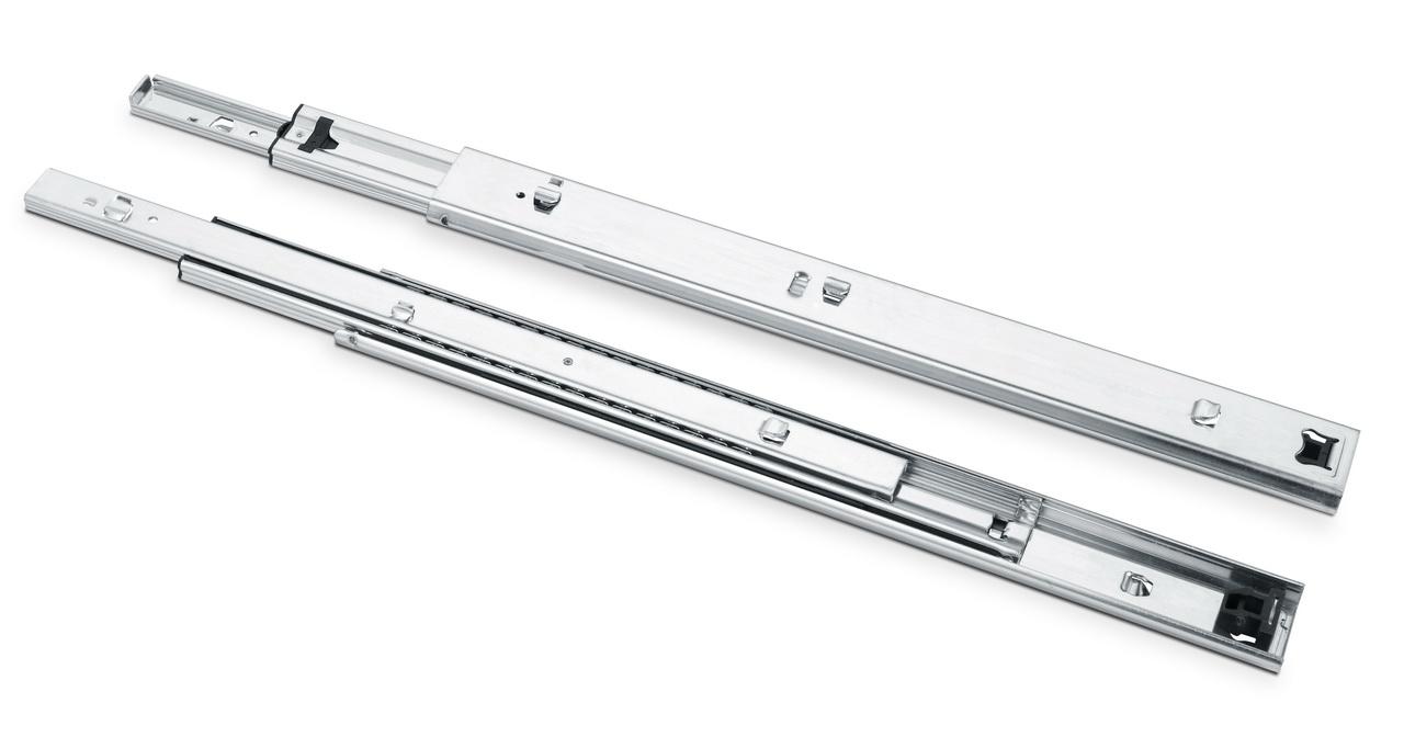 305303三節重型掛插式鋼珠滑軌