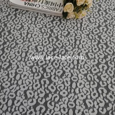 CS6010 豹纹蕾丝面料