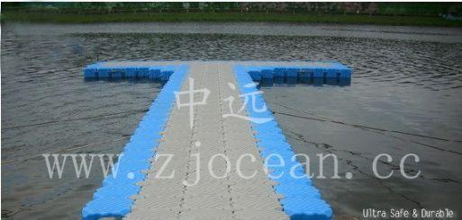 浙江某景区水上浮桥