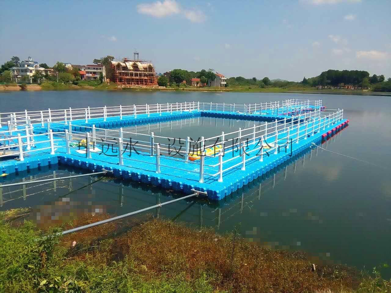 武汉某水库浮筒平台