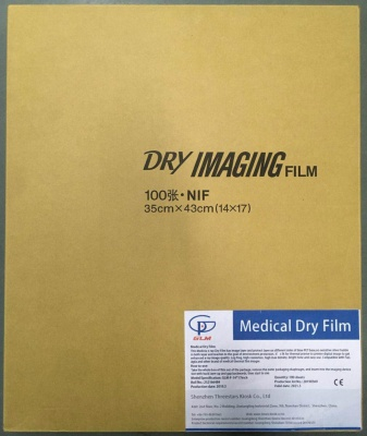 GLM medical thermal film GLM-A-DT2B-11x14in