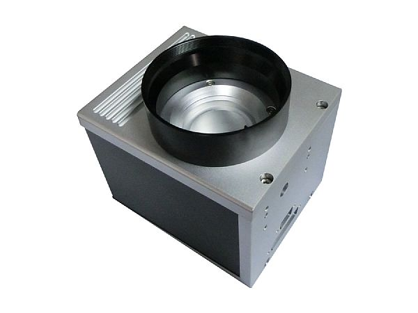 Laser marking head assembly