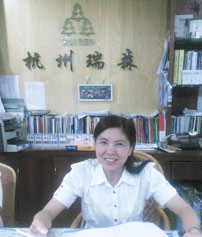 Customer witness 2- manager of hangzhou resen zhou yajun