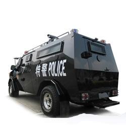 警务车辆表面抗冷兵器;盾牌头盔防弹插板