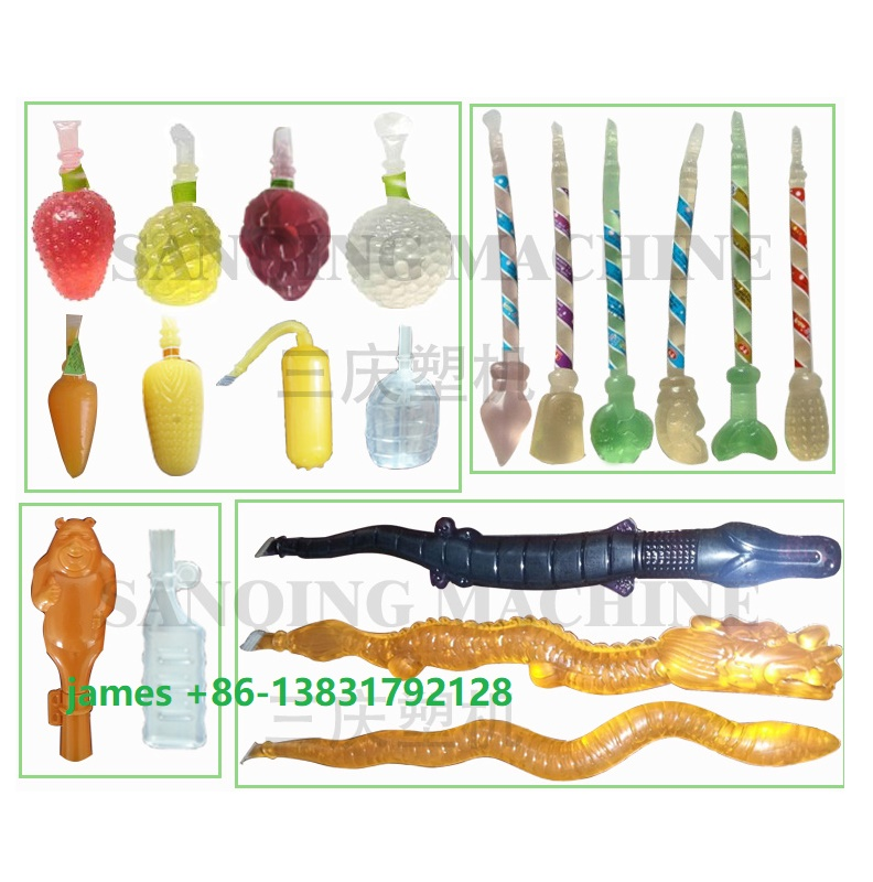 ice lolly soft tube blow moulding machine