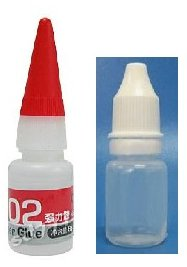 Glue Bottles Cosmetic Bottles Eye drop Bottles Shooting Neck Bottles