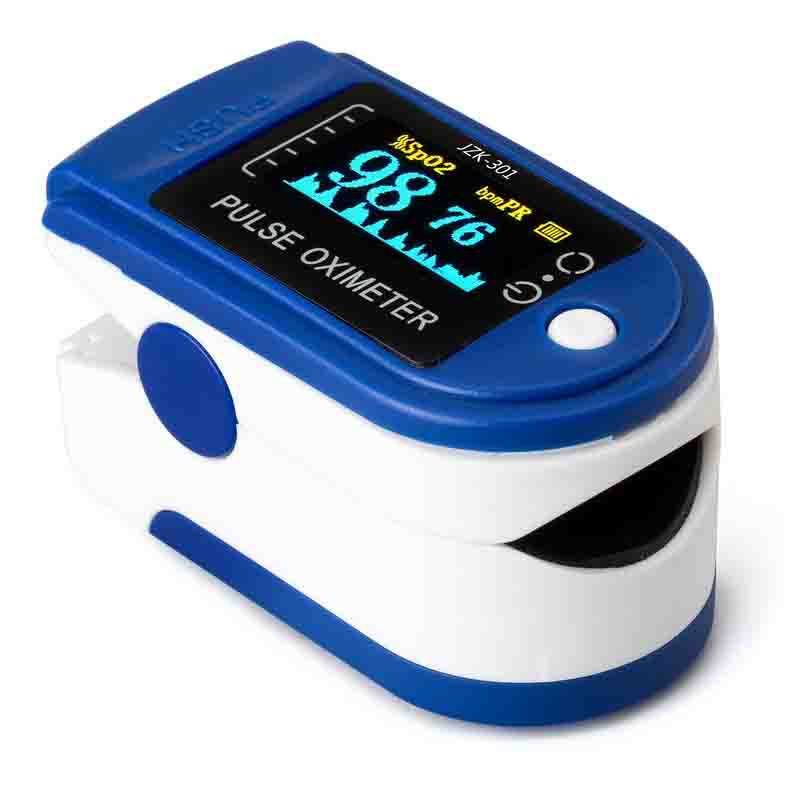 经典MQ厂家直销OLED显示屏指夹式血氧仪  Finger Pulse Oximeter
