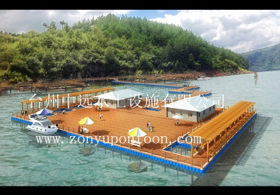 Design effect of floating platform
