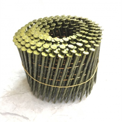 15° Wire Collated Coil Nails