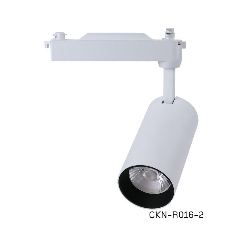 中坤CKN-R016-1 led軌道燈服裝店鋪35W商用明裝吸頂導軌式超亮聚光背景墻LED天花射燈