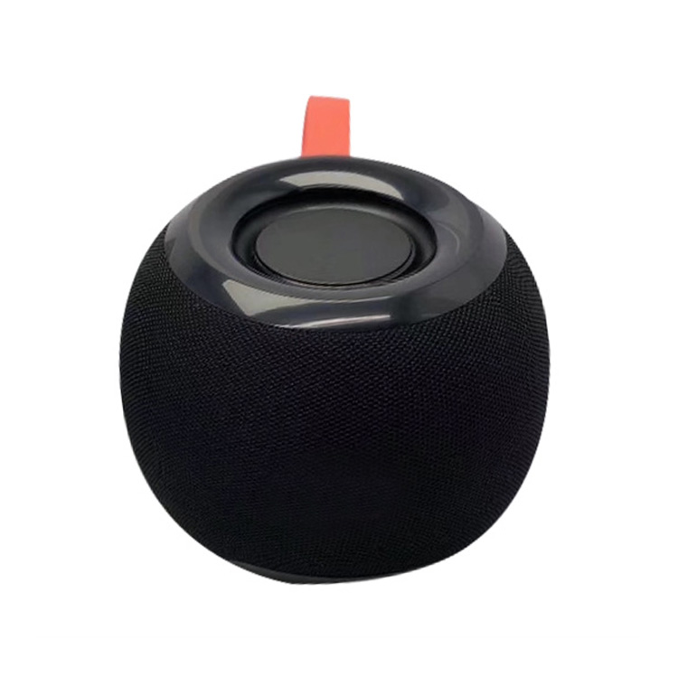 luxury fabric apple design bluetooth speaker with rope 1200mAh big capacity
