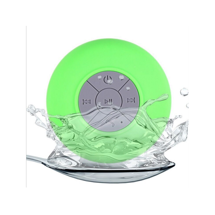 Bluetooth speaker with sucker, 300mAh waterproof