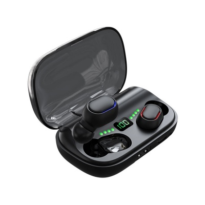 Digital display TWS earphone earbud
