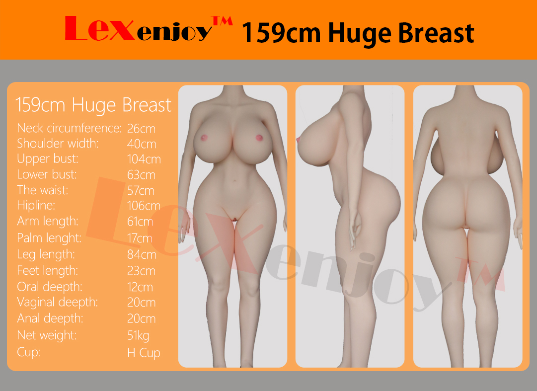 159cm Huge Breast Abigail