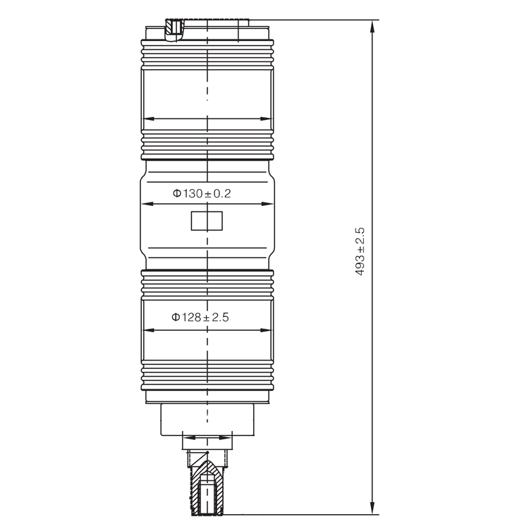 Vacuum Interrupter TD-40.5KV 2000A 31.5W3 (JUC2216) from JUCRO Electric
