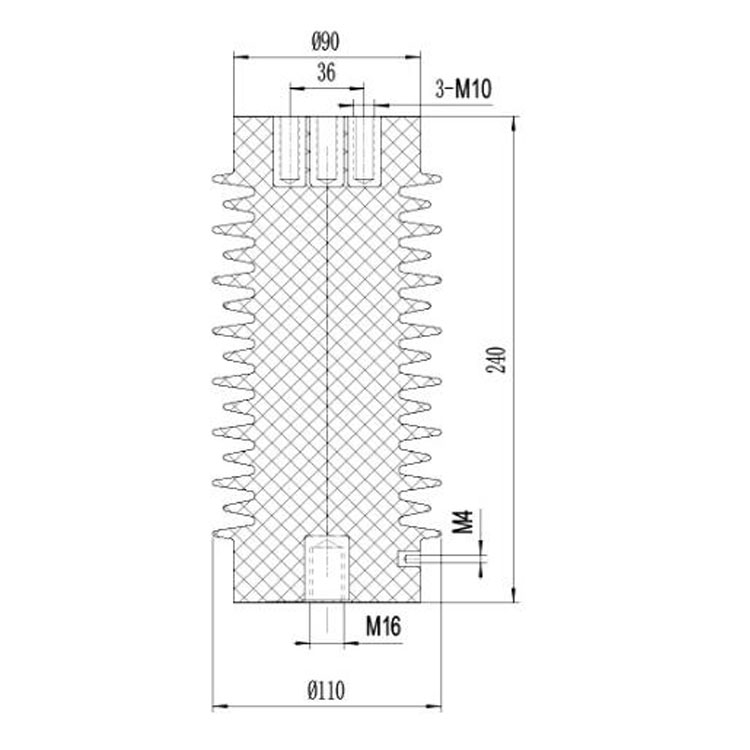 Sensor SSR-24J 110mm*240mm 24KV  from JUCRO Electric