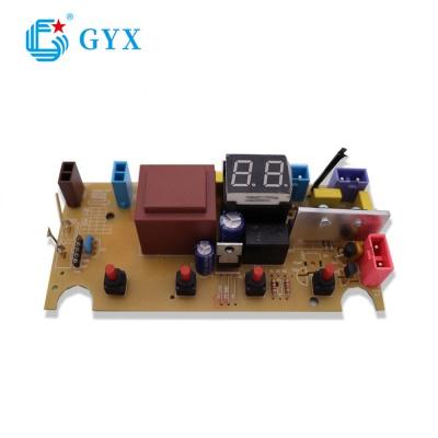雙八顯示帶LED數碼管PCBA加工大小家電控制板
