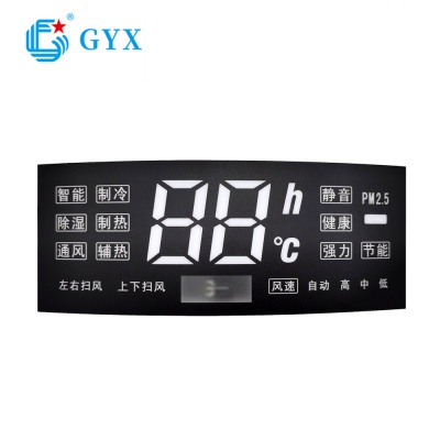 7-segment led smd white display for air conditioner controller GYXS-D827F33A