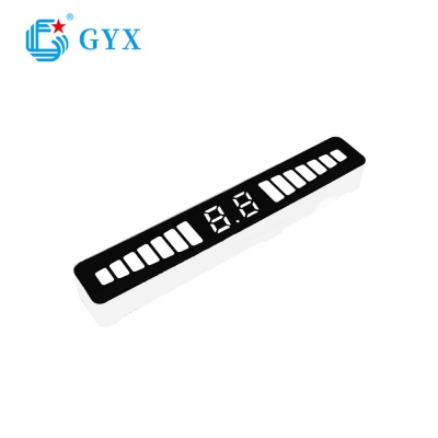 Automotive electronics product smd led digital display screen GYXS-2251RBY