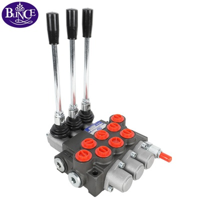 1-7 levers 40l/min P40 hydraulic direction control valve