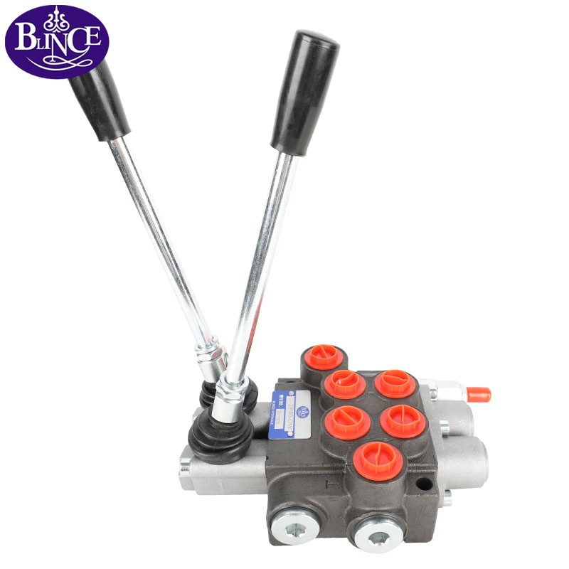 P80 manual directional control hydraulic valve (1-7 spools)