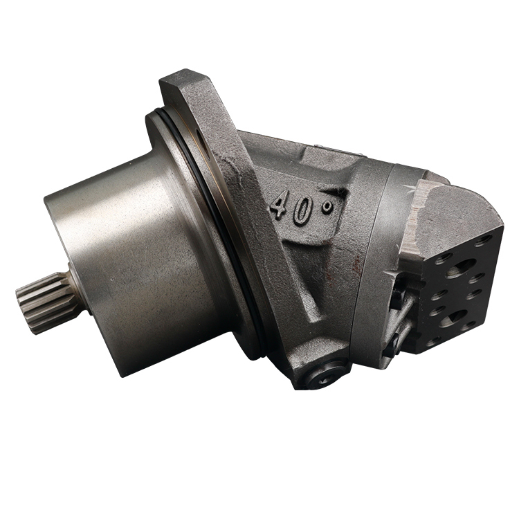 Rexroth A2FE Hydraulic Bent Axis Axial Piston Motor Wheel Mounting